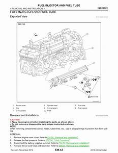 2016 Nissan Altima Model L33 Series  Oem Service And R