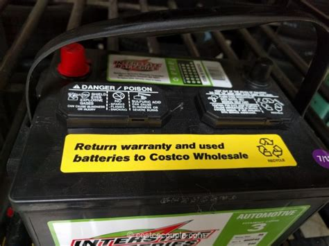 battery interstate costco batteries replacement warranty month