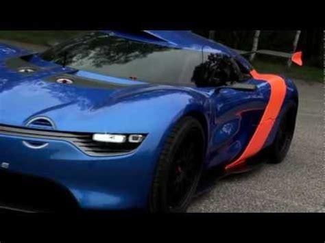 renault alpine   concept test drive youtube