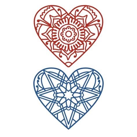 We have a huge range of svgs products available. Mandala Heart Cuttable Design