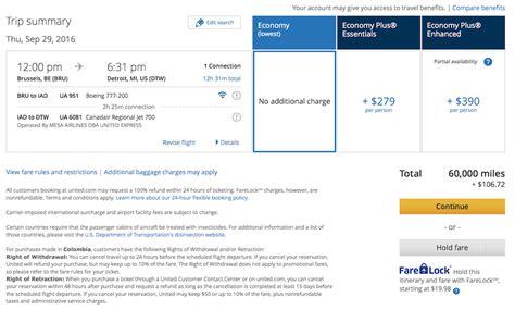 baggage fees united quot economy plus essentials quot and quot economy plus enhanced
