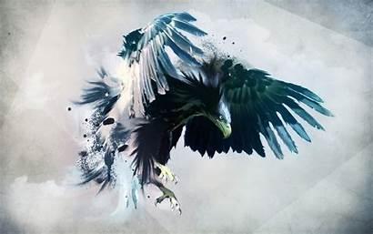 Abstract Animal Eagle Wings Eagles Artwork Desktop