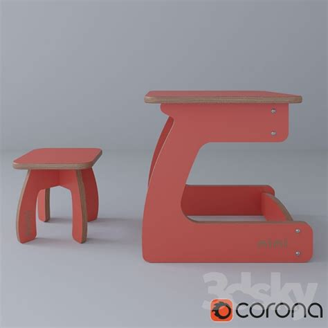 godwin 39 s furniture and 3d models table chair set children 39 s furniture