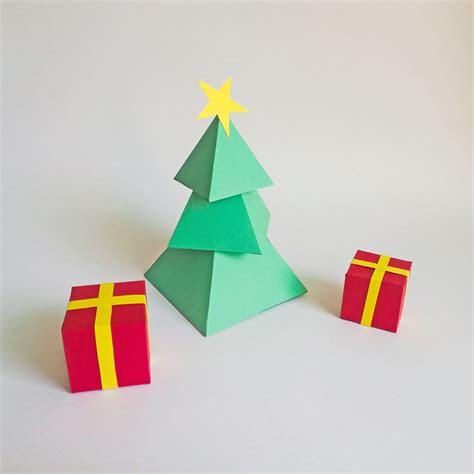 diy paper christmas tree  gift boxes  paperamaze