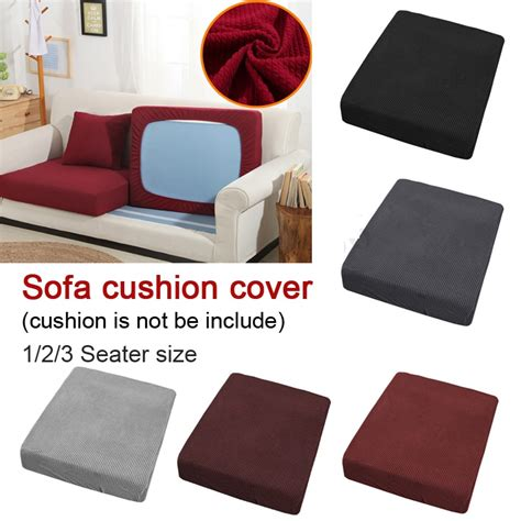 jacquard polyester spandex plaid sofa cushion cover fabric slip covers protector replacement