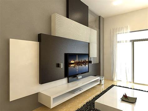 Do you not want to deal with the time and the mess? Designing a feature wall with a height of 3900mm | Wall unit designs, Wall tv unit design ...