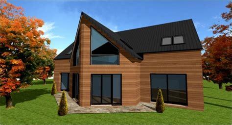 constructeur architecte maisons ossature bois plans modeles maisons bois foret