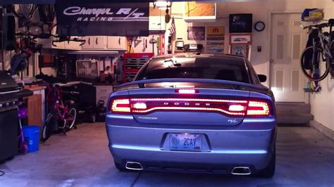 charger blacked  tail lights youtube
