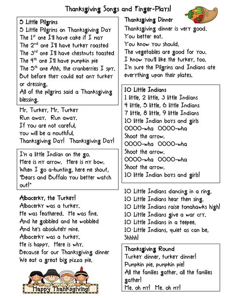 thanksgiving fingerplays thanksgiving songs and finger 309 | ef49b582cd483ef6fb93d9f05d1dc5cc