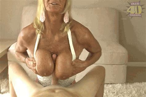 milfhandjobs tit fucking granny at over 40 ha