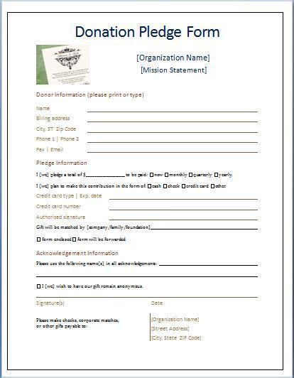 pin  donna doty  doorhangers donation form donation