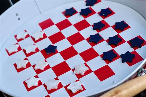 for checkers diy checkers game everyday party magazine