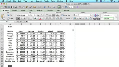 how to save an excel spreadsheet to look like a single
