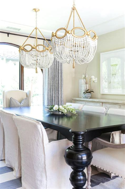 place  perfect chandelier   dining room