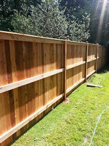 fence installation repair fence company  millwood