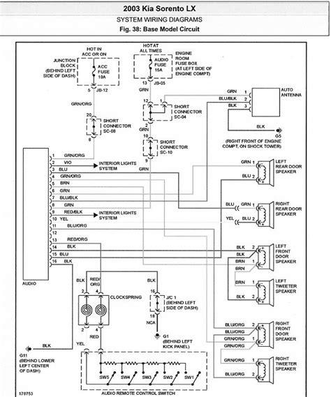 2003 kia spectra engine diagram automotive parts diagram