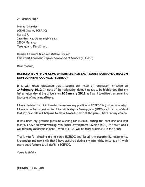 sle formal resignation letter malaysia resume acierta us