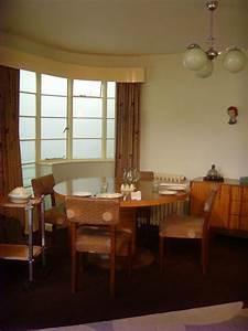 1930s Living Room  London Art Deco Interior
