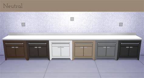Mod The Sims   Corporate Chic Counter and Island Recolors