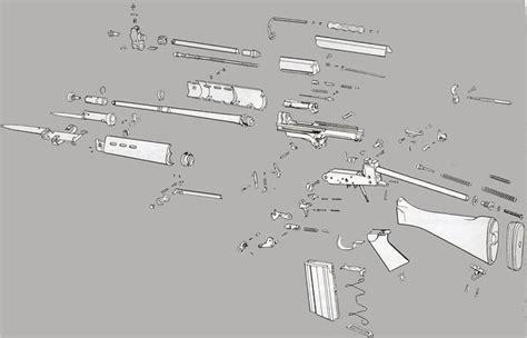 fn herstal fal rifle stocks barrels trigger parts  accessories