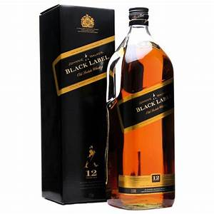 Johnnie Walker Black Label 12 Year Blended Scotch Whisky 1 ...