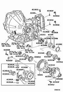 Front Axle Housing  U0026 Differential For 1994
