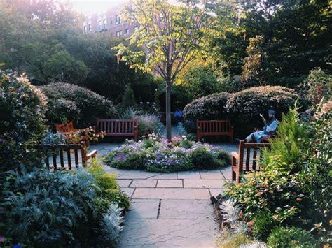 secret gardens in new york city c est christine