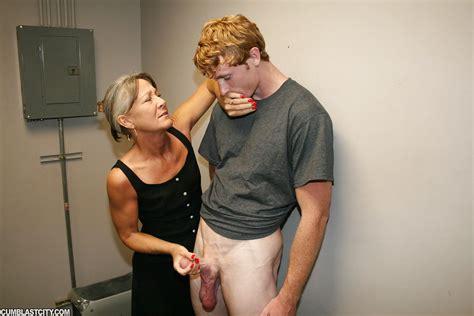 Fully Clothed Horny Granny Gives Hot Handjob And Gets Cum On Face Pornpics Com