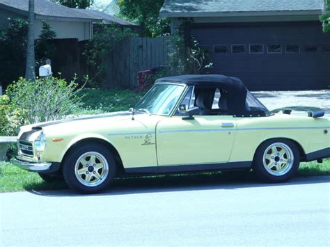 Datsun 2000 For Sale by Datsun 1600 2000 Fairlady Convertble Roadster Hardtop For