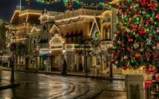 a beautiful small town scene christmas decorations pinterest