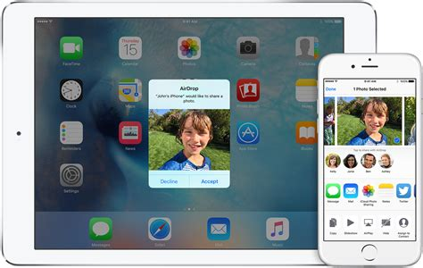 airdrop   iphone ipad  ipod touch