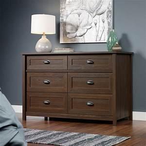County, Line, 6, Drawer, Dresser, -, Rum, Walnut