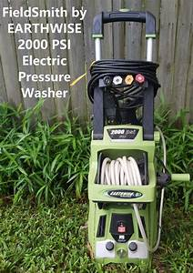 Fieldsmith By Earthwise 2000 Psi Electric Pressure Washer