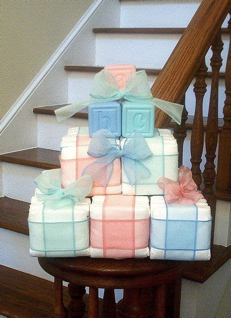easy   baby shower centerpieces table