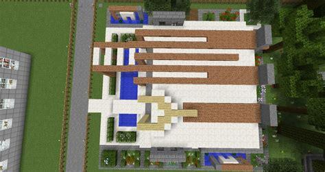 Modernes Haus  Minecraft Bauideen