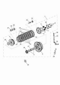 2017 Triumph Thruxton Washer  C  Clutch  Eng  Transmission