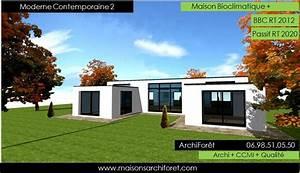 merveilleux plan de maison avec patio interieur 9 With plan maison avec patio 11 maison toit plat et toiture terrasse bac acier ou siplast