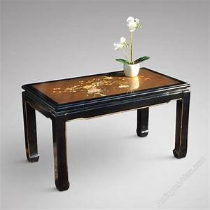 Antiques atlas oriental themed lacquered coffee table for Themed coffee tables