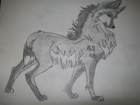 Anime Drawing Wallpaper - drawing anime wolves anime wolves images my drawing hd