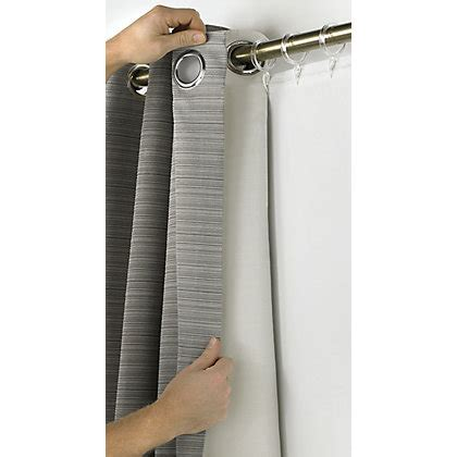 blackout lining  pencil pleat  eyelet curtains