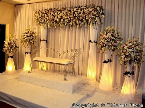 pin  aa wedding decor wedding stage decorations