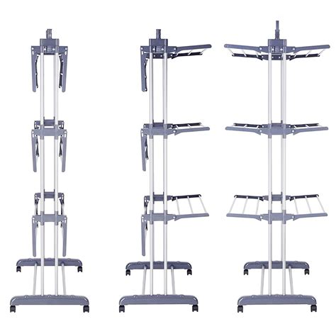 indoor clothes drying rack foldable 3 tier clothes airer laundry dryer rack indoor