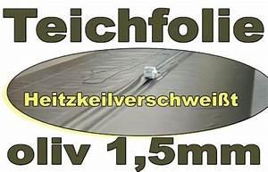 Teichfolie 1 5mm : oliv 14 x 15 meter st rke 1 5mm teichbau baumaterial f r den teichbau ~ Eleganceandgraceweddings.com Haus und Dekorationen