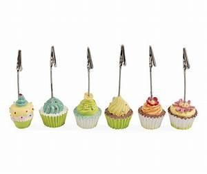 Segnaposto A Forma Di Cupcake  Set 6 Pezzi