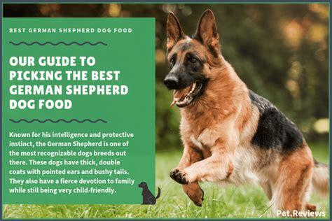 dog foods  german shepherds gsds