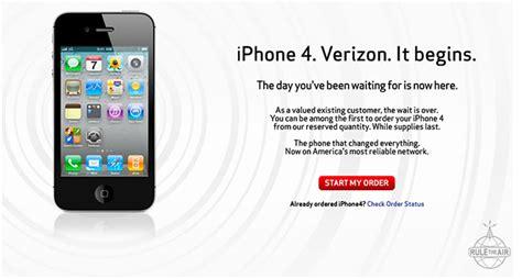 iphone pre order iphone 4 pre orders now underway for verizon customers