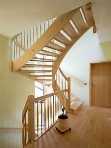 Halbgewendelte Treppe Konstruieren : holztreppen galerie viertelgewendelte treppe ~ A.2002-acura-tl-radio.info Haus und Dekorationen