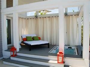amazing outdoor walls and fences outdoor spaces patio With whirlpool garten mit sonnenschutz vorhang balkon