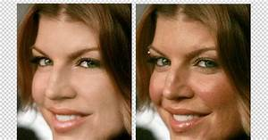 Celebrity Photoshop Before And After Air Brush