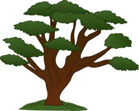 free oak tree silhouette clip clipart best